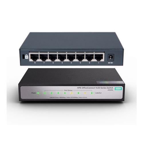 HP JH329A 1420-8G 8Port Gigabit Switch
