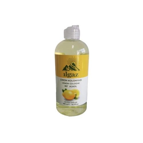 ILGAZ Klasik Seri 500ml Limon Kolonyası