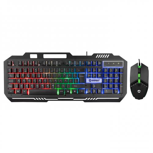 EVEREST KM-G88 X-DRIFTER Gaming Gökkuşağı Aydınlatmalı Usb Klavye Mouse Set