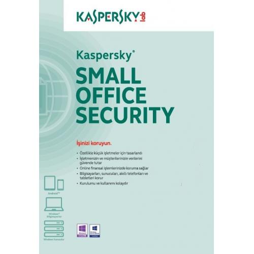 Kaspersky SMALL OFFICE Security 1Server + 5User 1 Yıl