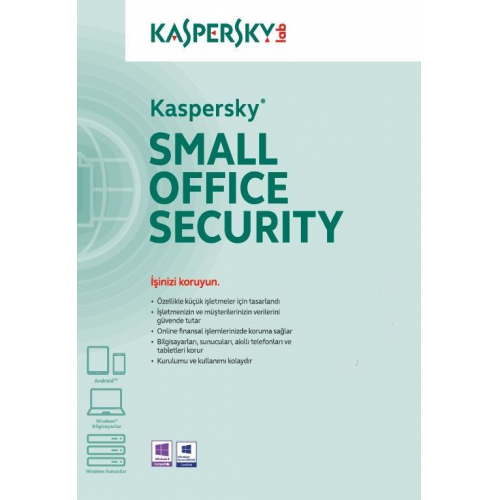 Kaspersky SMALL OFFICE Security 1Server + 10User , 1 YIL