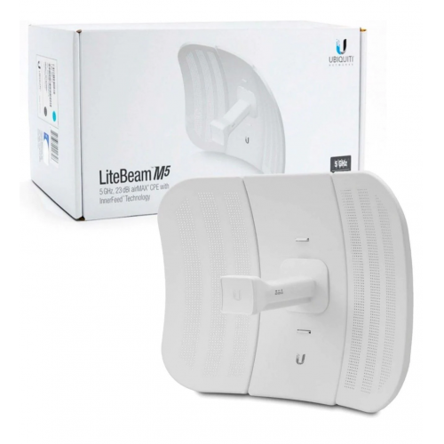 UBIQUITI LBE-M5-23 LiteBeam 23dBi 5Ghz. Access Point