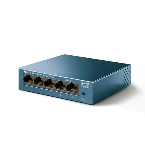 TP-LINK LS105G 5 Port GigaBit Metal Kasalı Switch