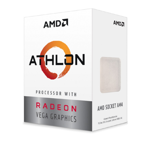 AMD ATHLON 200GE 2 Core, 3,20GHz 35W Radeon VEGA3 AM4 BOX