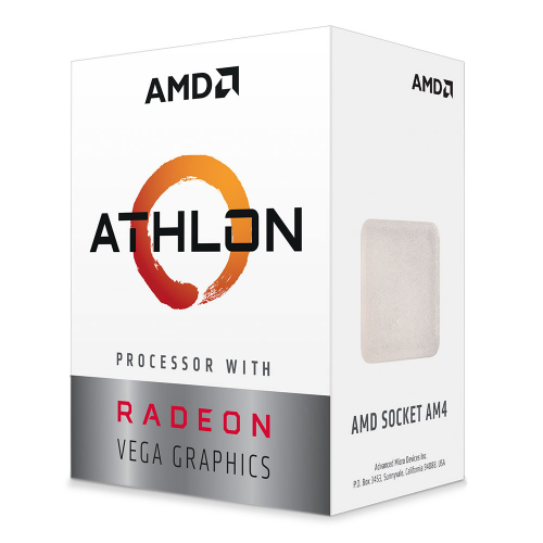 AMD ATHLON 3000G 2 Core, 3,50GHz 35W Radeon VEGA3 AM4 BOX