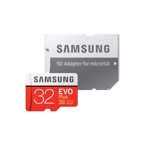 SAMSUNG MB-MC32GA/TR 32Gb EVO Plus CLASS10 Micro SD Kart (SD Adaptörlü)