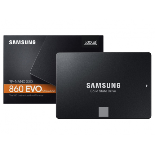 "SAMSUNG MZ-76E500BW 860 EVO 500GB 2,5"" 550/520 SSD Disk"