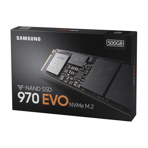 SAMSUNG MZ-V7E500BW 970 EVO 500GB 3500/2500 NVMe PCIe M.2 SSD
