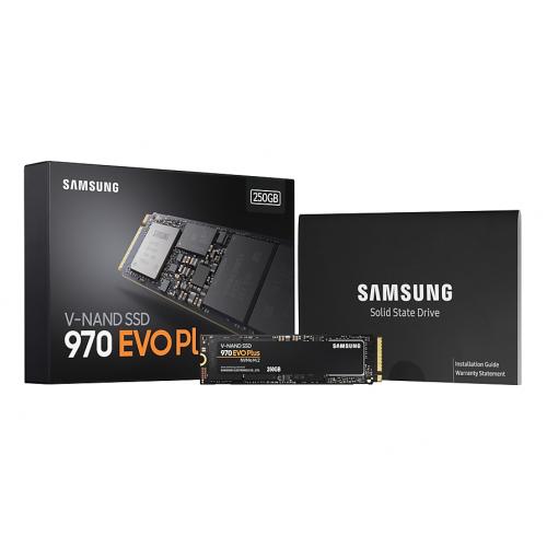 SAMSUNG MZ-V7S250BW 970 EVO PLUS 250GB 3500/2300 NVMe PCIe M.2 SSD