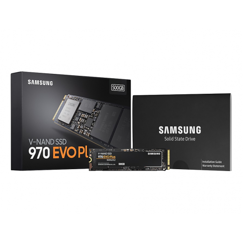 SAMSUNG MZ-V7S500BW 970 EVO PLUS 500GB 3500/3200 NVMe PCIe M.2 SSD