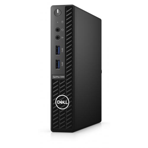 DELL Optiplex 3080-MFF_W N006O3080MFF_W i3-10100T, 4Gb Ram, 128Gb SSD, Paylaşımlı Ekran Kartı, Windows 10 PRO Masaüstü PC