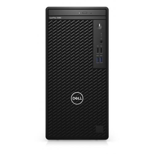 DELL Optiplex 3080-MT i5-10500 N011O3080MT_U 8Gb Ram, 256Gb SSD, Paylaşımlı Ekran Kartı, Free Dos Masaüstü PC