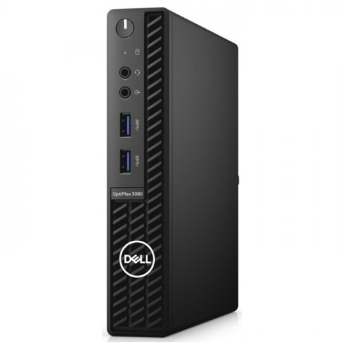 DELL Optiplex 3080-MFF_U N012O3080MFF_U i3-10100T, 8Gb Ram, 256Gb SSD, Paylaşımlı Ekran Kartı, Free Dos Masaüstü PC