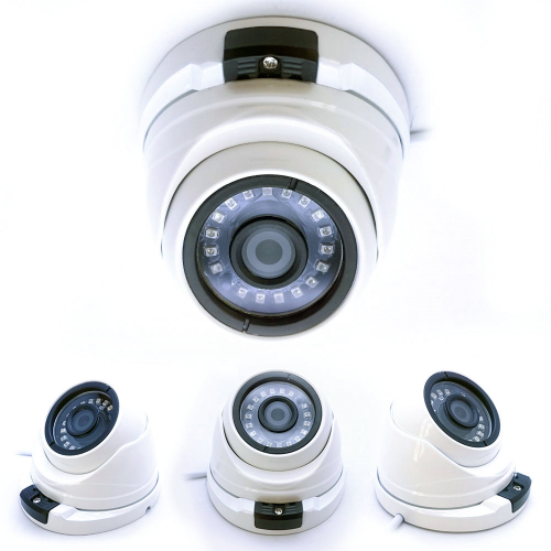 POWERGATE NEON-A30 2Mpix, 18adet Led, 30Mt Gece Görüşü, 3,6mm Lens, Metal Dome Kamera
