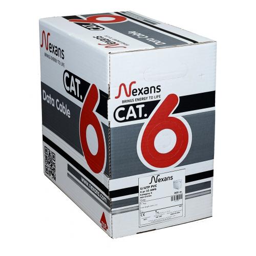 NEXANS CAT6 305M 23AWG (0,58mm) UTP %100 Bakır