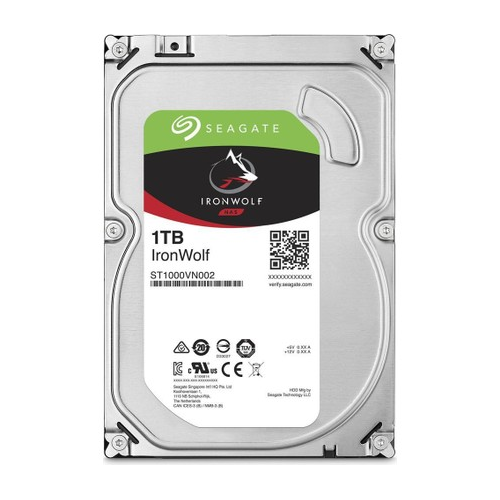 "SEAGATE IRONWOLF 3,5"" 1TB 64Mb ST1000VN002, 5900Rpm, SERVER/NAS HDD"