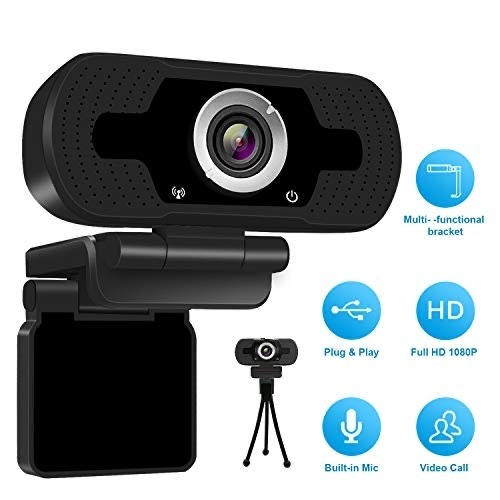 OSMART OS-W50 2Mpix 1080P Full HD Dahili Microfon Usb Webcam