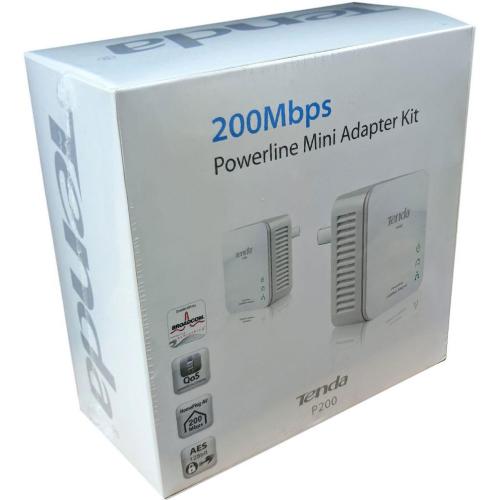 Tenda P200 HomePlug 1Port Kablolu 200Mbps Kit