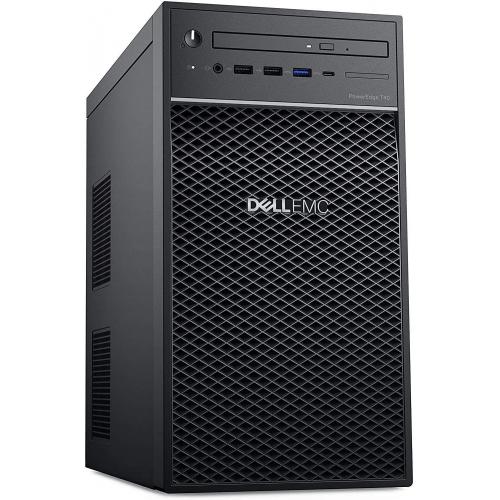DELL PET40TR1 T40 Intel Xeon E-2224G 16Gb (2x8Gb) Ram, 500Gb SSD x 2Adet, 1x300W Power, Free Dos TOWER SERVER