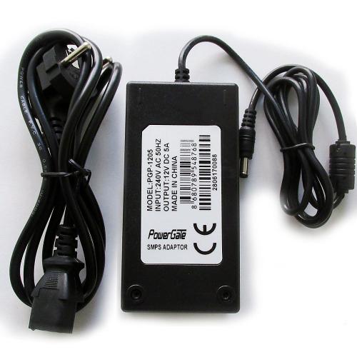 PowerGate PGP-1205 12V 5A DC ADAPTÖR