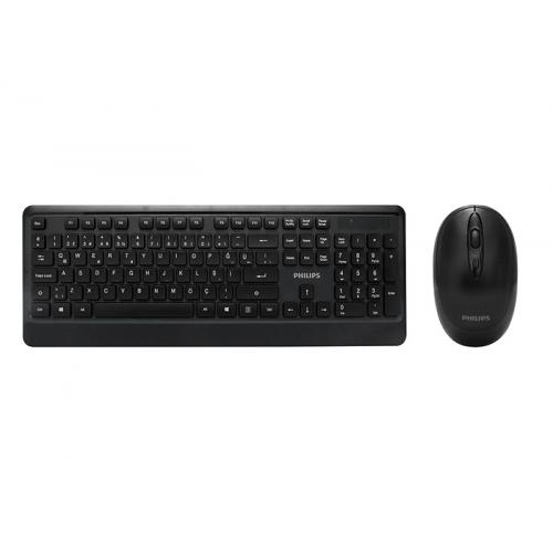 PHILIPS SPT6394/62 C394 Kablosuz Türkçe Q Klavye+Mouse