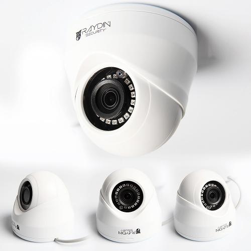 RAYDIN PIXEL-A11 2Mpix, 12adet Led, 20Mt Gece Görüşü, 3,6mm Lens, Plastik Dome Kamera