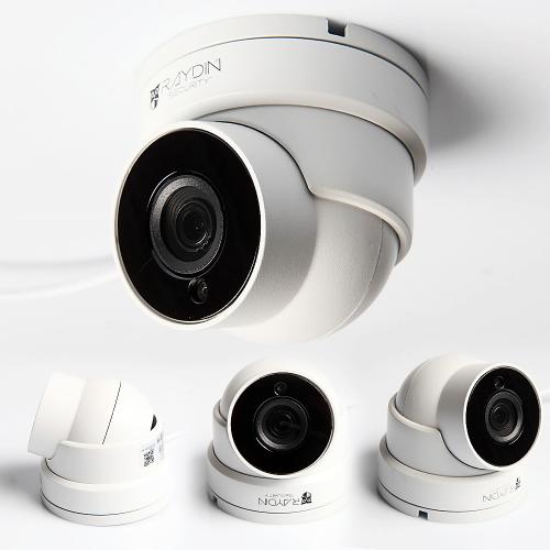 RAYDIN POINT-L20 2Mpix, 3,6mm Lens, H265, 18adet Led, 30Mt Gece Görüşü, SD Kart, PoE, Metal Dome IP Kamera