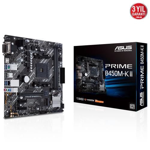 ASUS PRIME B450M-K II HDMI DVI D-SUB USB3,2 AM4