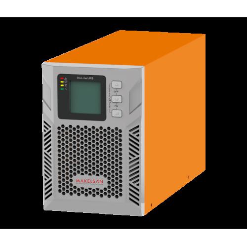 MAKELSAN Powerpack Plus 1KVA Online UPS(2x7A Akü)
