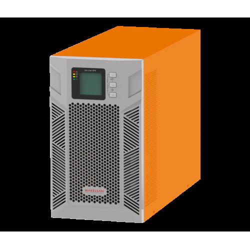 MAKELSAN Powerpack Plus 3KVA Online UPS(6x9A Akü)