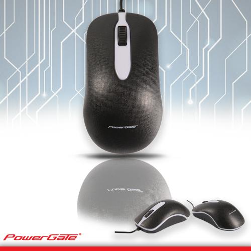 PowerGate R503 USB Kablolu Işıklı MOUSE (Siyah)