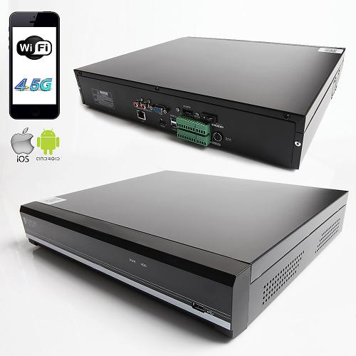 RAYDIN RADYUM-B32 8Mpix, H265, 32Kanal Video, 4 HDD, UHD 4K 2160P Kayıt, 320Mbps Bant Genişliği, RaydınView NVR