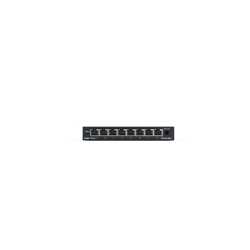 RUIJIE REYEE RG-ES209GC-P 9 Port GigaBit ,8X PoE 120W RUIJIE Colud Yönetilebilir Switch Metal Kasa