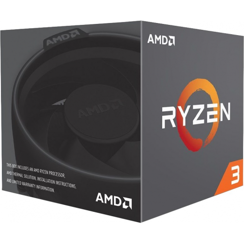 AMD RYZEN 3 2200G 4 Core, 3,50-3.70GHz 65W Rodeon VEGA8 Wraith Stealth FAN AM4 BOX