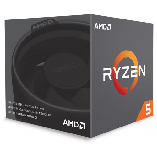 AMD RYZEN 5 2600 6 Core, 3,40-3.90GHz 65W Wraith Stealth FAN AM4 BOX