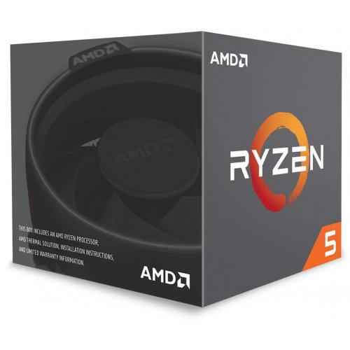 AMD RYZEN 5 2600X 6 Core, 3,60-4.20GHz 95W, Wraith Spire FAN, AM4, (Kutulu)