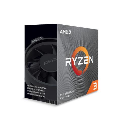 AMD RYZEN 3 3100 4 Core, 3,60-3.90GHz 65W Wraith Stealth FAN AM4 BOX