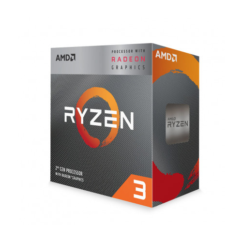 AMD RYZEN 3 3200G 4 Core, 3,60-4.00GHz 65W Radeon VEGA8 Wraith Stealth FAN AM4 BOX