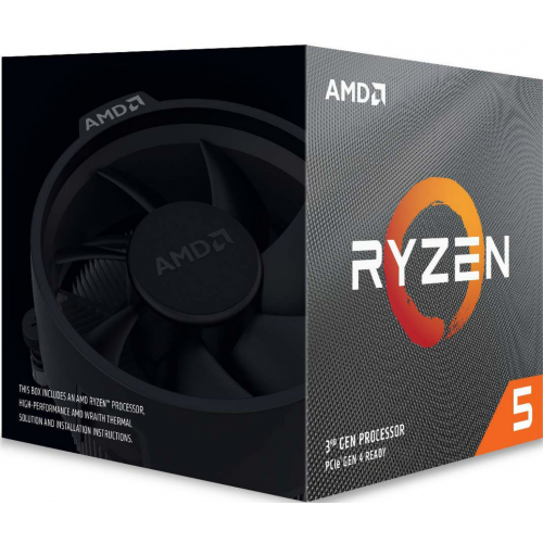 AMD RYZEN 5 3600X 6 Core, 3,80-4.40GHz 35Mb Cache 95W Wraith Spire FAN AM4 BOX