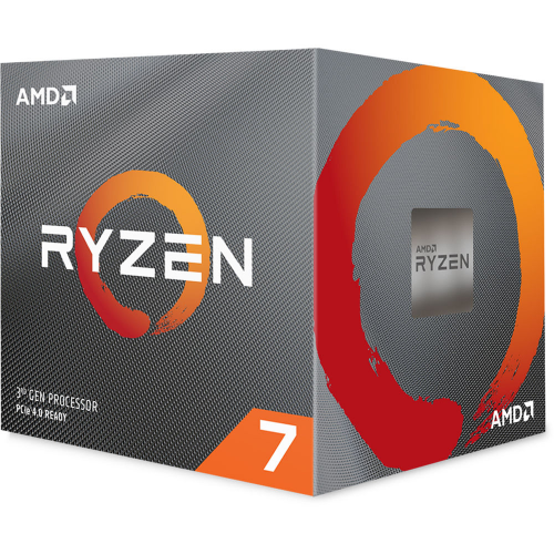 AMD RYZEN 7 3800X 8 Core, 3,90-4.50GHz 36Mb Cache 105W RGB LED Wraith Prism FAN AM4 BOX