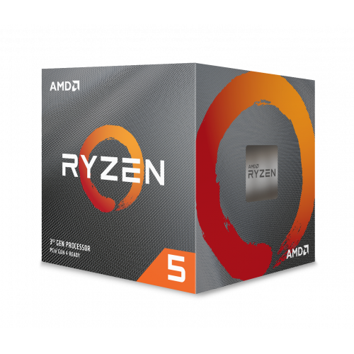 AMD RYZEN 5 3600XT 6 Core, 3,80-4.50GHz 35Mb Cache 95W Wraith Spire FAN AM4 BOX