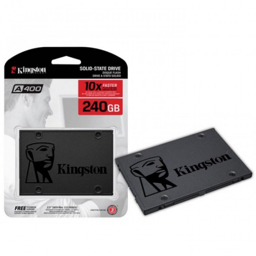 KINGSTON SA400S37/240G A400 240Gb 500/350 SATA SSD
