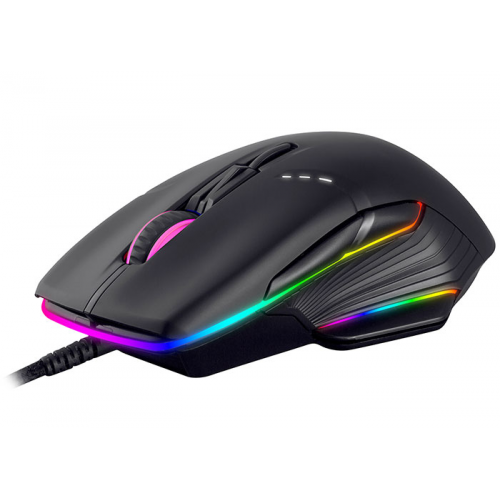 RAMPAGE SMX-R19 FIGHTER Gaming Mouse. RGB, MACRO, 6200DPI, USB