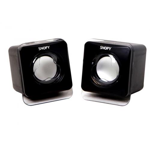 SNOPY SN-121 1+1 Masa Üstü USB SPEAKER (Siyah)