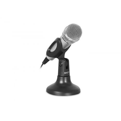 SNOPY SN-M77 Masa Üstü Mikrofon, 1,8m Kablo Uzunluğu