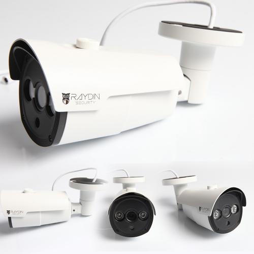 RAYDIN SOLID-R21 2Mpix 2adet Array Led 40Mt Gece Görüş, 3,6mm Len, Dış Mekan, Büyük Metal Kamera