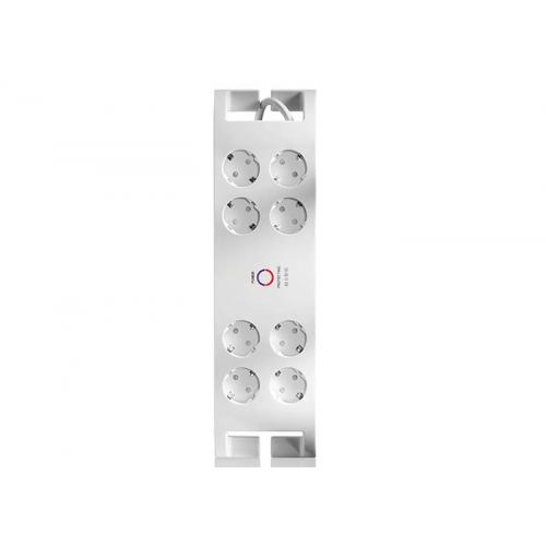 S-LINK SPG3080 Akım Korumalı 2Mt 3G1.5mm2 900 Joule 8li Priz (Beyaz)