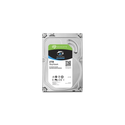 """SEAGATE SKYHAWK 3,5"""" 2TB 64Mb ST2000VX008, 5900Rpm, Güvenlik HDD"""