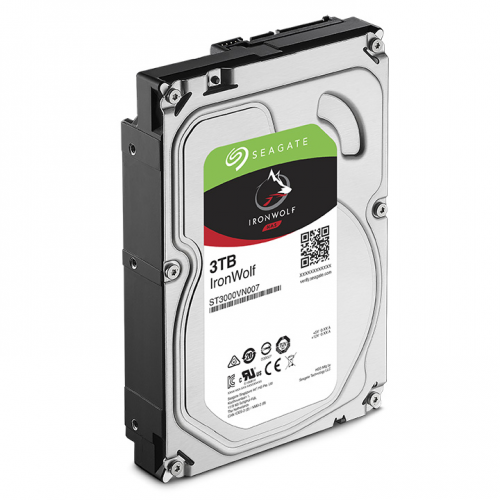 "SEAGATE IRONWOLF 3,5"" 3TB 64Mb ST3000VN007, 5900Rpm, SERVER/NAS HDD"