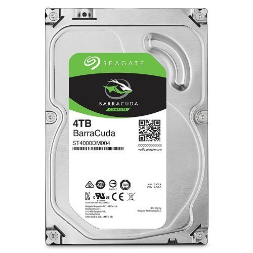 "SEAGATE Barracuda 3,5"" 4TB 256Mb ST4000DM004, 5400Rpm, Desktop HDD"